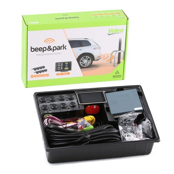 632202 VALEO fram och bak, med sensor, Antal sensorer: 8 Parkeringshjälp 632202 köp lågt pris