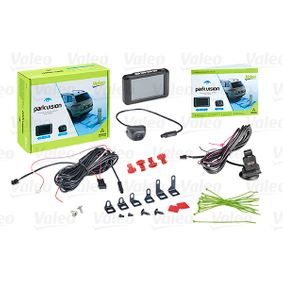 632210 VALEO with camera, without sensor, 1,5Hrs., 12V, Rear, without radio muting, Activation optional through switch, Activation through reverse gear Screen Display: TFT Rear view camera, parking assist 632210 cheap