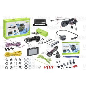 632211 VALEO with camera, with sensor, Black, Mat, 3Hrs., 12V, Rear, with acoustic warn function, with radio muting, Activation optional through switch, Activation through reverse gear Screen Display: TFT, Range from: 0,1m, Range to: 1,7m Rear view camera, parking assist 632211 cheap