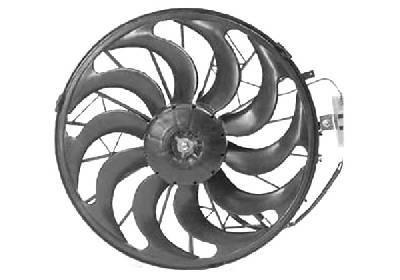 RENAULT TWIZY Lüfter, Klimakondensator - Original VAN WEZEL 0640752