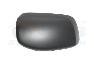 BMW 5 Series 2010 Cover outside mirror VAN WEZEL 0655844: Right, Primed