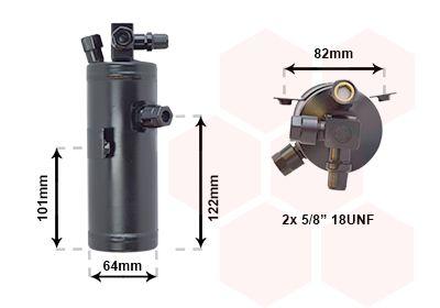Achetez Déshydrateur de clim VAN WEZEL 0900D202 () à un rapport qualité-prix exceptionnel