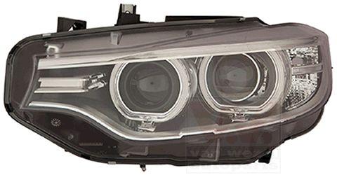 BMW 4er 2018 Scheinwerfer Set - Original VAN WEZEL 0624983M Links-/Rechtsverkehr: für Rechtsverkehr, Fahrzeugausstattung: für Fahrzeuge mit Leuchtweiteregelung (automatisch)