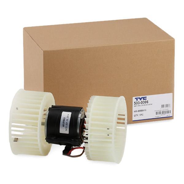 503-0006 TYC für Fahrzeuge mit Klimaanlage Spannung: 13,5V, Nennleistung: 446W Innenraumgebläse 503-0006 günstig kaufen
