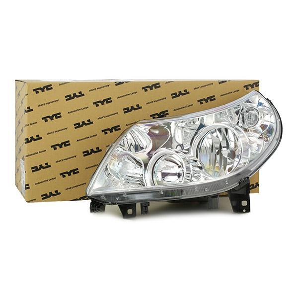 VAN WEZEL: Original Autoscheinwerfer 1651961 (Links-/Rechtsverkehr: für Rechtsverkehr, Fahrzeugausstattung: für Fahrzeuge mit Leuchtweiteregelung (elektrisch))