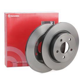 08.A725.11 BREMBO COATED DISC LINE Voll, beschichtet Ø: 271mm, Lochanzahl: 5, Bremsscheibendicke: 11mm Bremsscheibe 08.A725.11 günstig kaufen