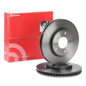 09.B647.11 BREMBO COATED DISC LINE Ventilerad inifrån, belagd Ø: 276mm, Hålant.: 5, Bromsskivetjocklek: 26mm Bromsskiva 09.B647.11 köp lågt pris