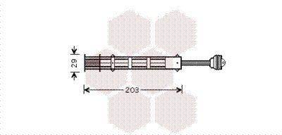Achetez Filtre déshydrateur VAN WEZEL 1700D282 () à un rapport qualité-prix exceptionnel