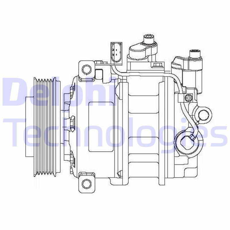 Original VW Kompressor CS20475