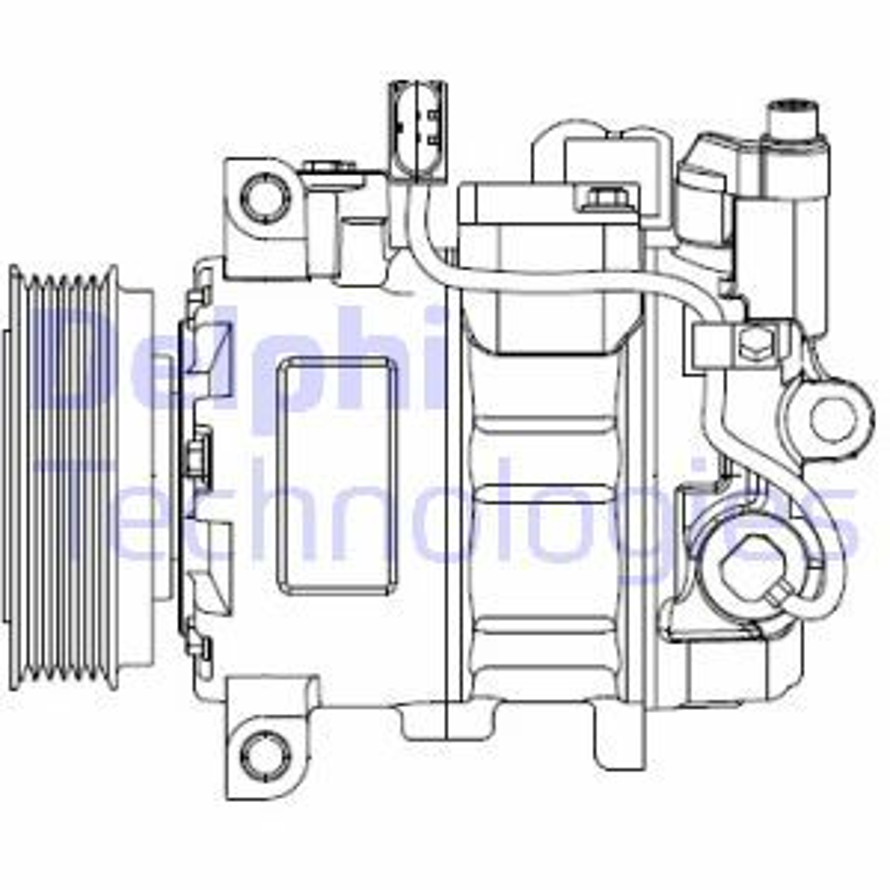 Original VW Klimakompressor CS20476