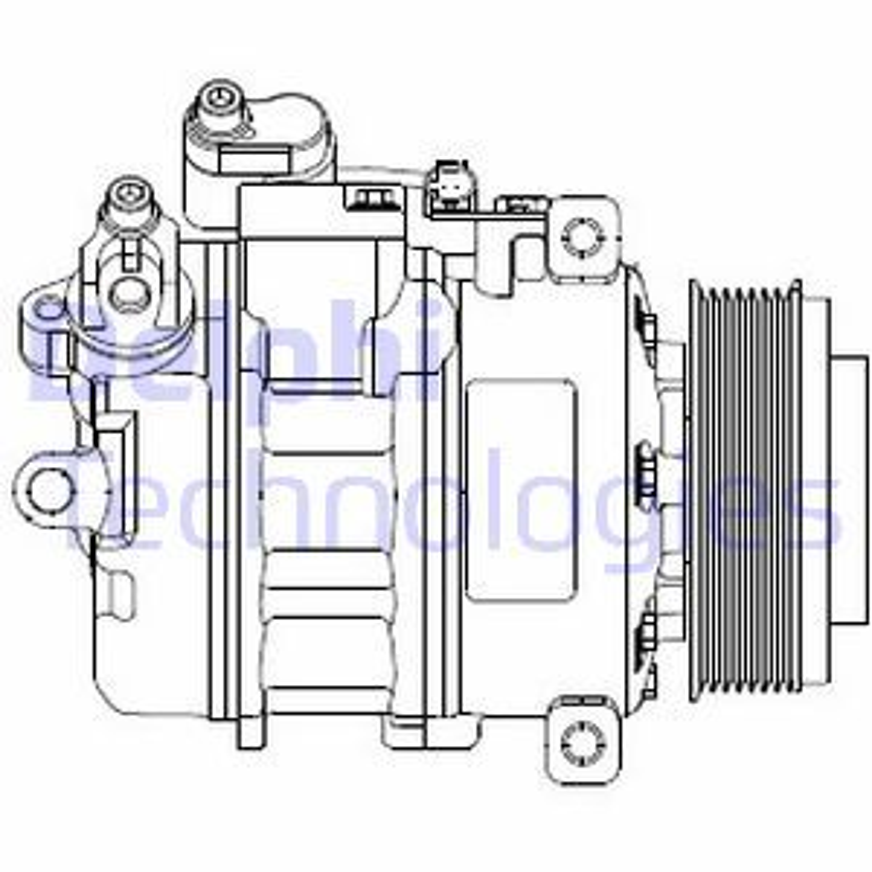 Klimakompressor DELPHI CS20479