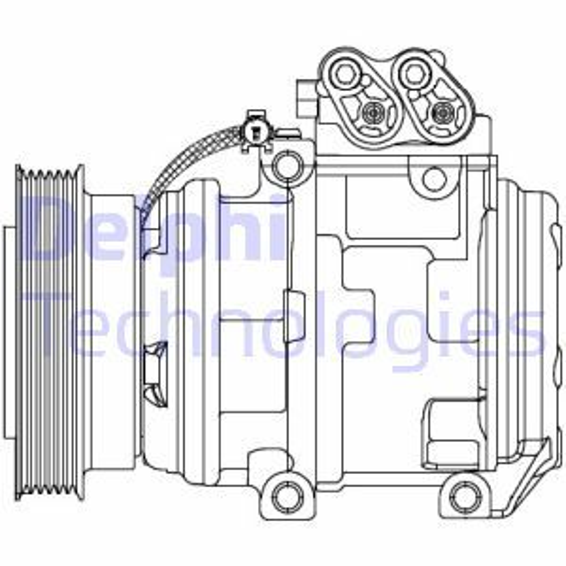 Original KIA Klimakompressor CS20488