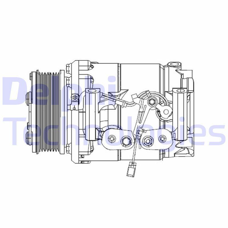 Original HONDA Kompressor CS20492