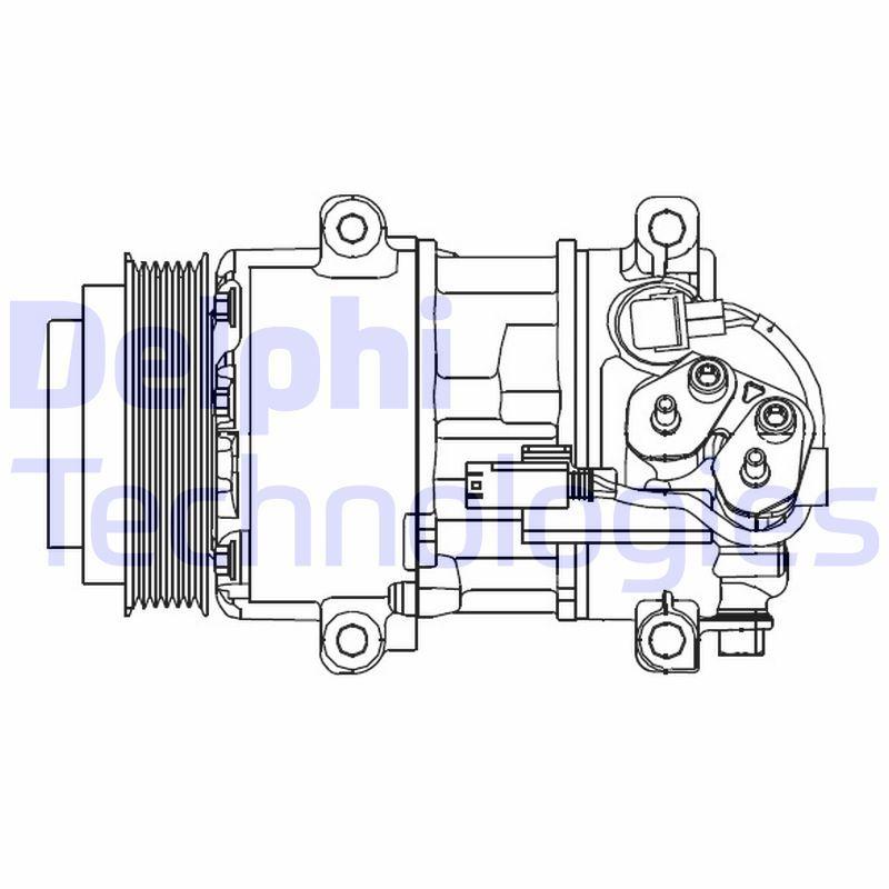 Kompressor DELPHI CS20499