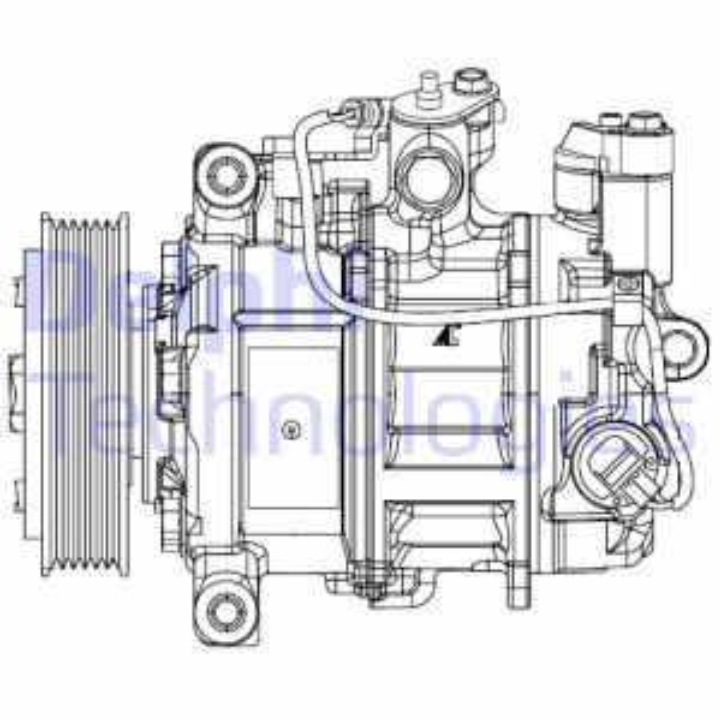 Kompressor Klimaanlage DELPHI CS20504