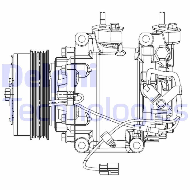Original HONDA Kompressor CS20510