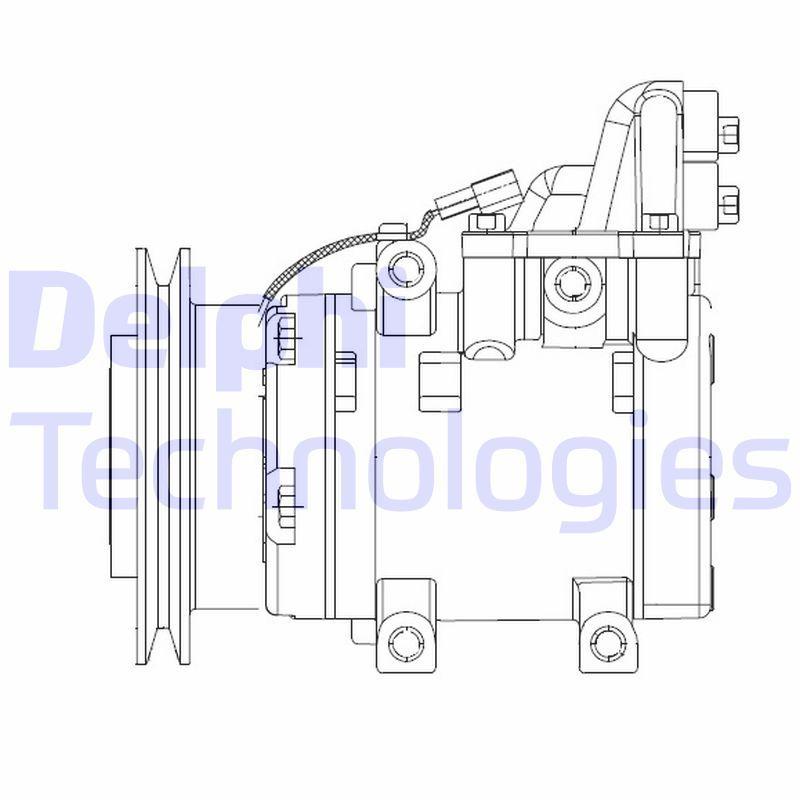 Kompressor DELPHI CS20524