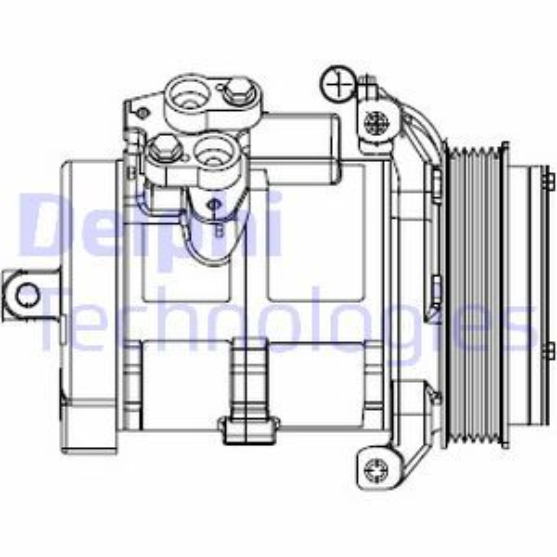 Klimakompressor DELPHI CS20528