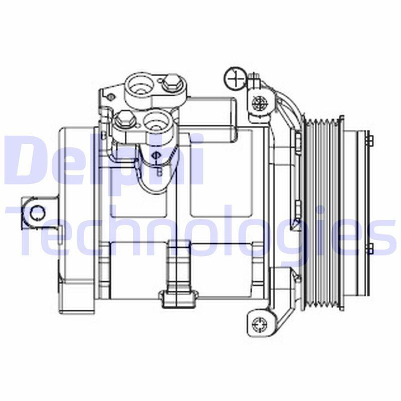 Original MERCEDES-BENZ Kompressor Klimaanlage CS20528