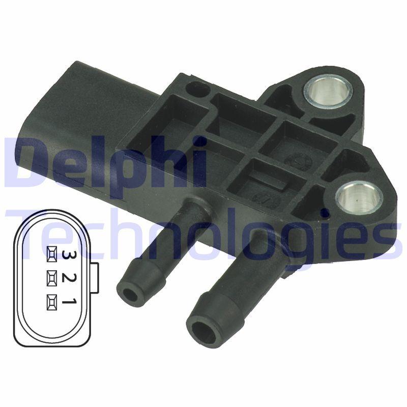 DELPHI Sensor, Abgasdruck DPS00002