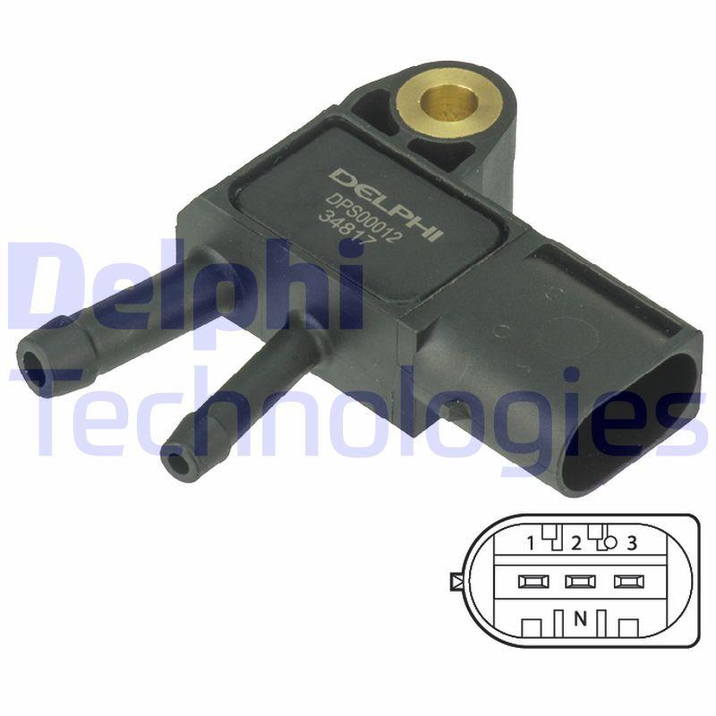 DELPHI: Original Abgasdrucksensor DPS00012 ()