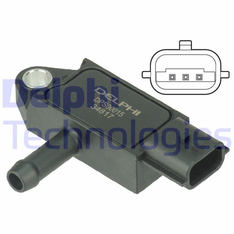 DPS00015 Sensor, Abgasdruck DELPHI Erfahrung