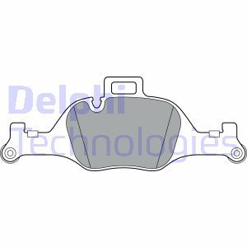 Bremsbelagsatz BMW 3 Touring Van (G21) hinten + vorne 2020 - DELPHI LP3299 (Höhe 2: 84mm, Höhe: 84mm, Dicke/Stärke 1: 19mm, Dicke/Stärke 2: 19mm)