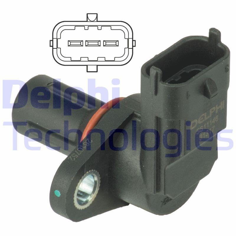 Delphi Sensor Nockenwellenposition SS11155