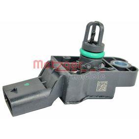 Saugrohrdruck ORIGINAL ERSATZTEIL METZGER  0906268 Sensor