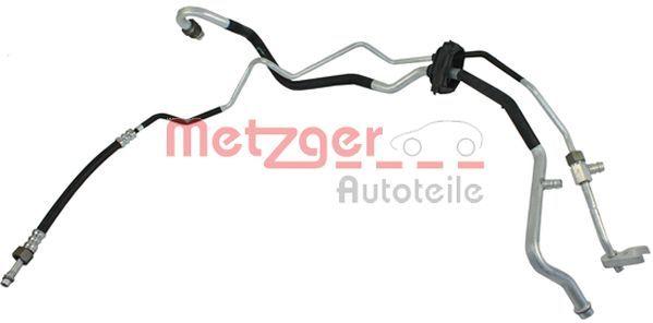 VW PASSAT 2011 Klimarohr - Original METZGER 2360069
