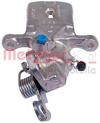 6250650 METZGER Hinterachse rechts Bremssattel 6250650 günstig kaufen