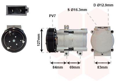 Original LAND ROVER Kompressor 1800K167