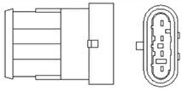 Lambda probe 466016355130 MAGNETI MARELLI — only new parts
