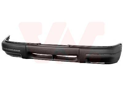 1822572 VAN WEZEL vorne, schwarz/grau, überlackierbar, mit Stoßfängerträger Stoßstange 1822572 günstig kaufen