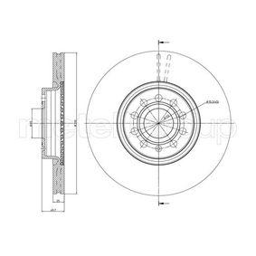 23-0840C METELLI ventilado, barnizado Ø: 312,0mm, Núm. orificios: 5, Espesor disco freno: 25,0mm Disco de freno 23-0840C a buen precio