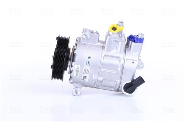 890632 Klimakompressor NISSENS Test