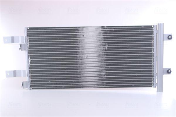 NISSENS Kondensor, klimatanläggning till MAN - artikelnummer: 941073