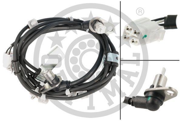 OPTIMAL: Original ABS Sensor 06-S827 ()