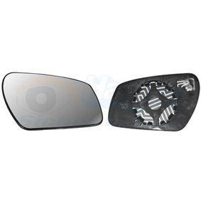 1863836 VAN WEZEL à direita Vidro de espelho, espelho retrovisor exterior 1863836 comprar económica