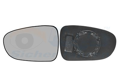 Spiegelglas Außenspiegel VAN WEZEL 1867831