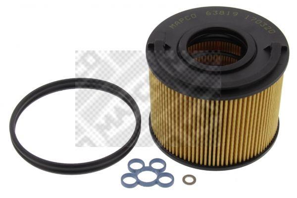 Palivový filtr 63819 s vynikajícím poměrem mezi cenou a MAPCO kvalitou