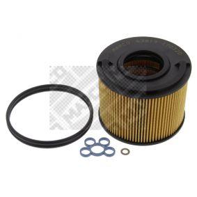 63819 MAPCO Filterinsats H: 84,5mm Bränslefilter 63819 köp lågt pris