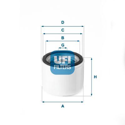 27.VGT.00 UFI Luftfilter, Turbolader für AVIA online bestellen