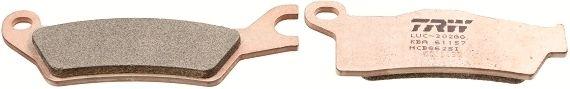 MCB862SI TRW Sinter Offroad Höhe 1: 36mm, Höhe 2: 39,9mm, Dicke/Stärke: 7,6mm Bremsbelagsatz, Scheibenbremse MCB862SI günstig kaufen