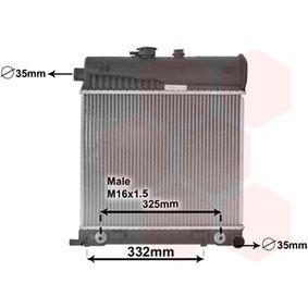 30002150 VAN WEZEL Kühlrippen gelötet, Aluminium Kühler, Motorkühlung 30002150 günstig kaufen
