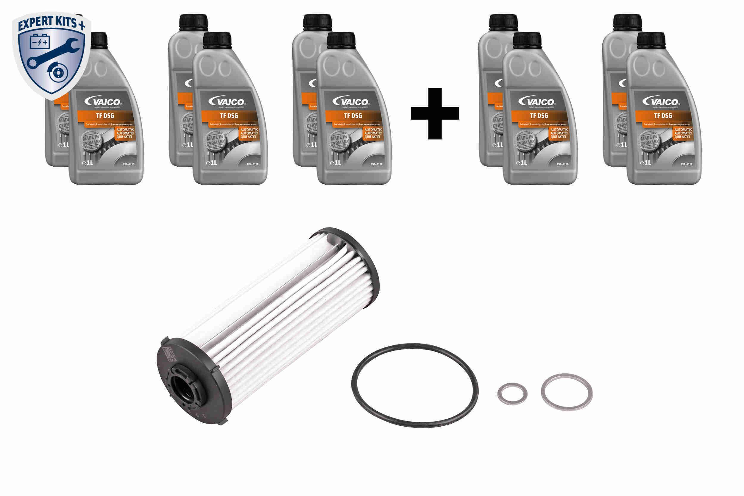 0BH325183B VAICO mit Dichtung, mit Dichtring, mit Ölmenge für Ölspülung, EXPERT KITS + Teilesatz, Ölwechsel-Automatikgetriebe V10-3223-XXL günstig kaufen