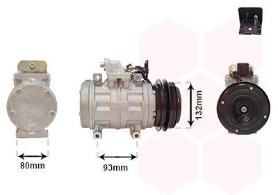 VAN WEZEL Klimakompressor 3000K083