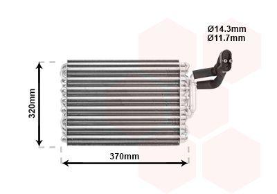 VAN WEZEL: Original Verdampfer Klimaanlage 3000V002 ()
