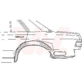 Mudguard VAN WEZEL 3026448 — Buy now!
