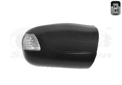 Mercedes E-Class 2019 Wing mirror housing VAN WEZEL 3029842: Right, with indicator